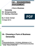 1A Choosing Business