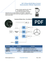 Micrel - Blender BLDC Motor Demonstration Rev 1.2
