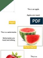 Description of Fruits