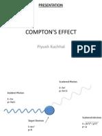 Compton s Effect