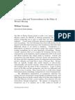 William Verrone - Transgression and Transcendence in the Films of Werner Herzog