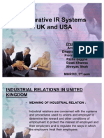Ir in Usa and Uk Most Importat