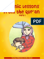 Islamic Lessons From the Qur'an Part 1