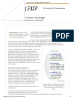 Make Your PDFs Work Well With Google