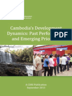 Cambodia's Development Dynamics