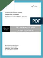 Globalization and Job Satisfaction