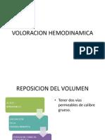 VOLORACION HEMODINAMICA