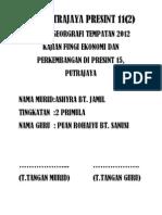 contoh folio pmr