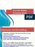 extension culture norms