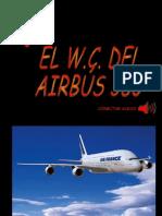 EL W.C. DEL AIRBÚS 380