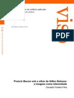 Francis Bacon Sob o Olhar de Gilles Deleuze-A Imagem Como Intensidade