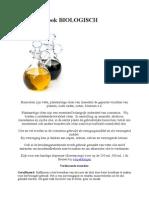 Bijlage recepten - Basis oliën