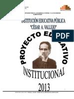 Proyecto Educatyivo Institucional 2013 Csar a Vallejo-2