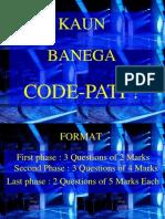Kaun Banega Code-Pati