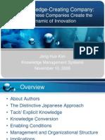 Kim Knowledge Creating Company