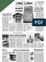 Corriere delle Alpi 20/06/2009