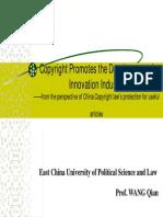12. DocCentre-Copyright-Wang Qian_Copyright Promotes Development-En