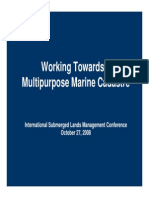 Working Toward a Multipurpose Marine Cadastre a Spatial Data Framework for the Outer Continental Shelf and State Waters