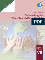 7 Bahasa Inggris Buku Guru