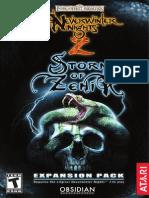 Neverwinter Nights 2 Storm of Zehir - Manual