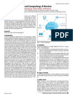 Cloud Computing a Review