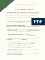 2 Survey Plan & Procedures