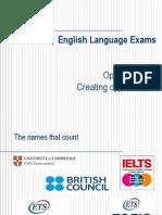 English Langauge Exams