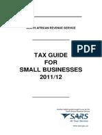 Tax SmallBusinessGuide20111224Jan2012