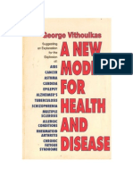 A New Model for Health and Disease George Vithoulkas