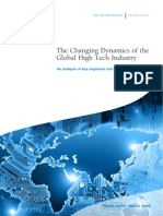 The Changing Dynamics of the Global High Tech Industry an Analysis of Key Segments and Trends