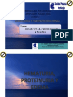 05 Hematuria, Proteinuria y Edema