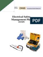 Electrical Safety Management Plan University Queensland