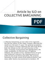 Article by Ilo on Collective Bargaining