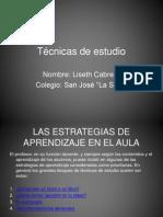 tcnicasdeestudio-120306224213-phpapp01