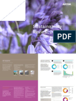 Sustainability Review Aecom Uk 2009
