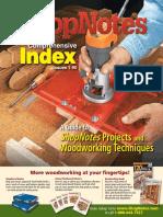Shopnotes Index (01 90)