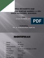 Case Report Tinea Incognito n DKA
