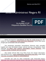 Sistem Administrasi Negara RI