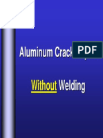 Aluminum Crack Inspection and Repair Examples