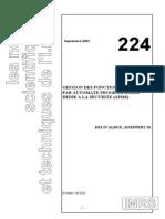 Securite Par Automate Programmable Ns224