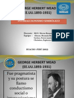 George Herbert Mead