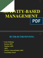 Manajemen Berdasar Aktivitas