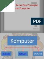 Perangkat Keras Dan Perangkat Lunak Komputer