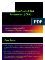 Dr. Lavanya -Infection Control Risk Assessment (ICRA)