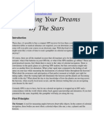 Navigation Your Dreams by the Stars