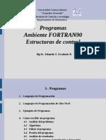 01 Programas Ambiente Fortran y Estructuras de Control