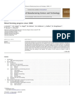 Metal Forming Review Paper