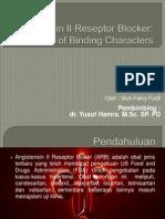 Angitoensin II Reseptor Blocker.pptx