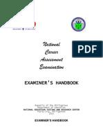 3 - 2013 NCAE Examiner's Handbook