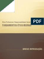 FUNDAMENTOS ÉTICO-MORAIS - Apresentação